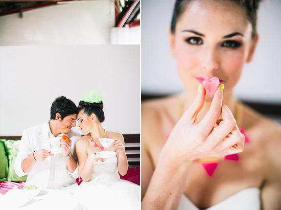 neon wedding inspiration034 Neon Wedding Inspiration