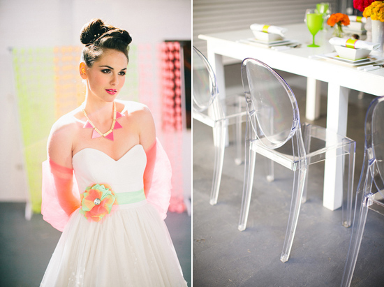neon wedding inspiration043 Neon Wedding Inspiration