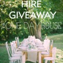 one day house wedding hire giveaway