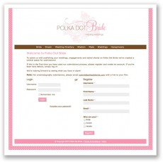 polka dot bride submission tool