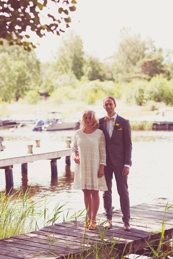 relaxed swedish wedding010 Johanna and Urbans Relaxed Swedish Wedding