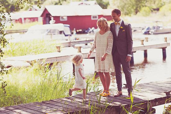 relaxed swedish wedding012 Johanna and Urbans Relaxed Swedish Wedding