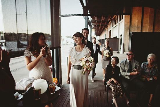 sydney wharf wedding