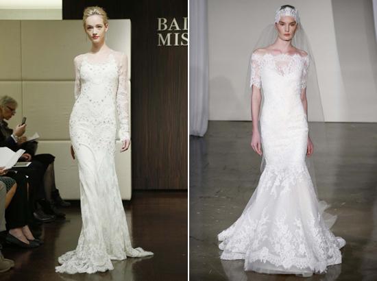 Badgley Mischka Marchesa Spring 2013 Bridal Trends