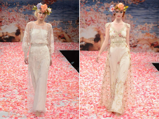 Claire Pettibone Bridal Spring 2013 Spring 2013 Bridal Trends