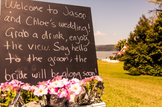 IMG 0312 550x366 Chloe and Jasons Handmade Springtime Country Wedding