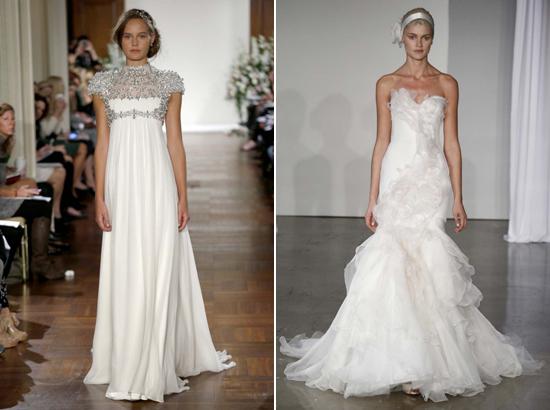 Jenny Packham Marchesa Spring 2013 Bridal Trends