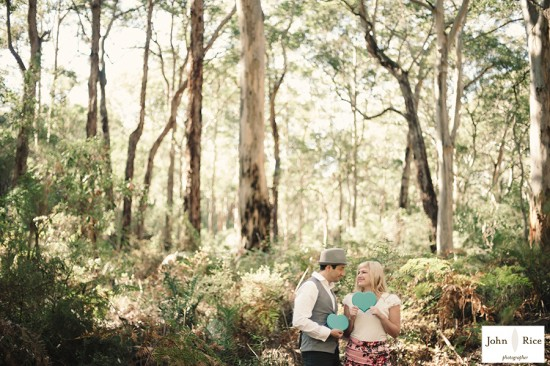 Pete Khrystyne Cordi18 550x366 Margaret River Bush Engagement Shoot