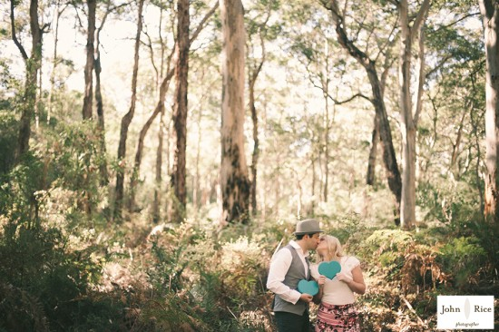 Pete Khrystyne Cordi19 550x366 Margaret River Bush Engagement Shoot