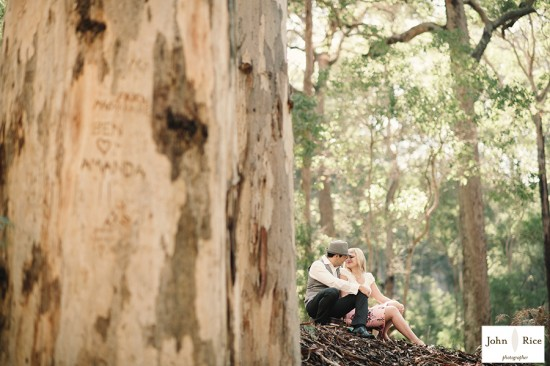 Pete Khrystyne Cordi34 550x366 Margaret River Bush Engagement Shoot