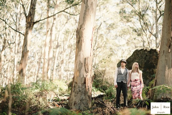 Pete Khrystyne Cordi69 550x366 Margaret River Bush Engagement Shoot