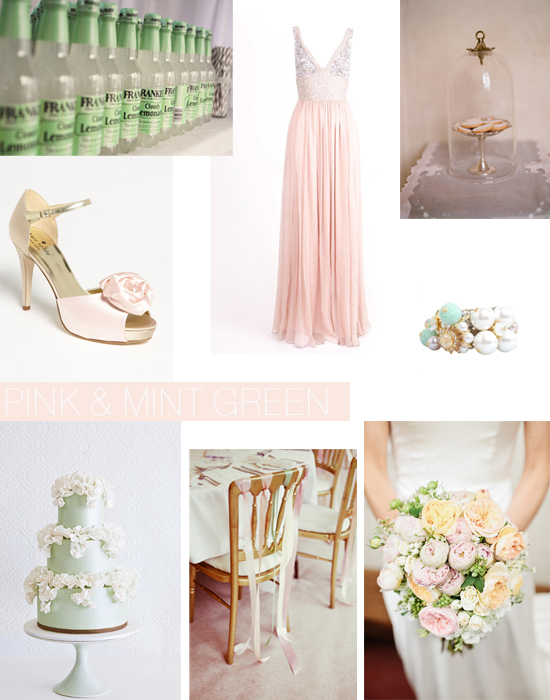 Spring Green Wedding Ideas Shoe Crush Sunday Pink & Mint Green