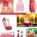 Watermelon Pink Wedding Inspiration