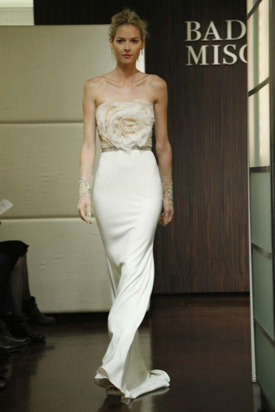 badgley mischka Spring 2013 Bridal Trends