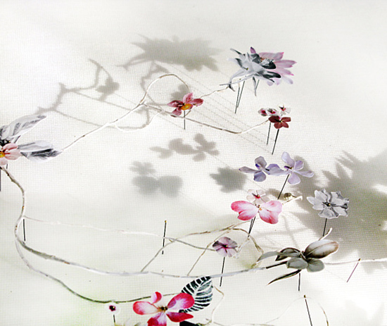 paper flowers Anne Ten Donkelaar001 Flower Art by Anne Ten Donkelaar