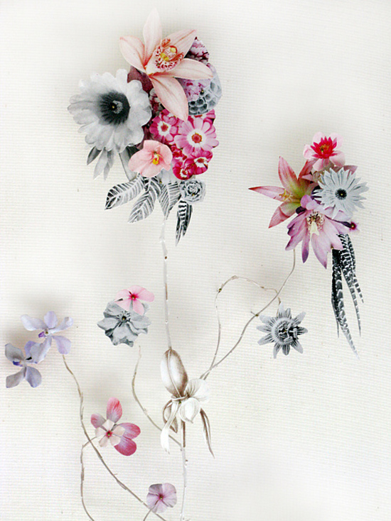 paper flowers Anne Ten Donkelaar004 Flower Art by Anne Ten Donkelaar