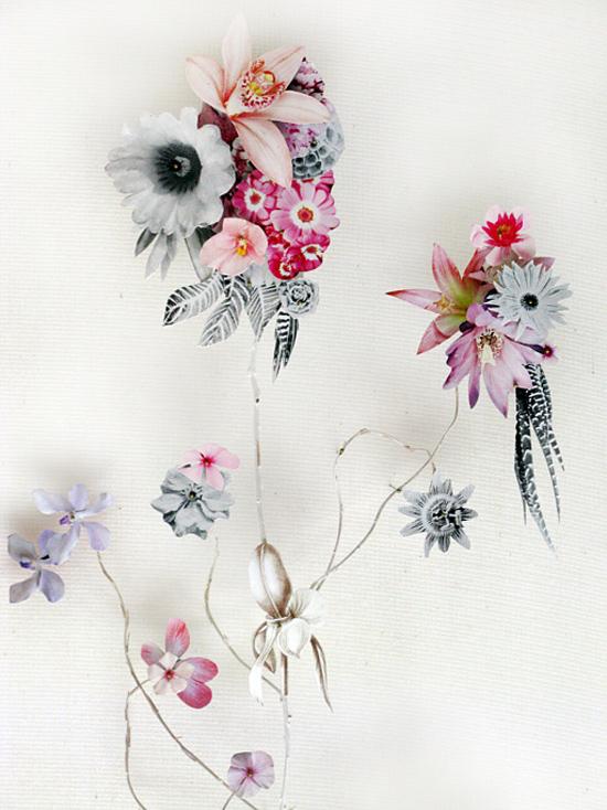 paper flowers Anne Ten Donkelaar004 Flower Art by Anne Ten Donkelaar