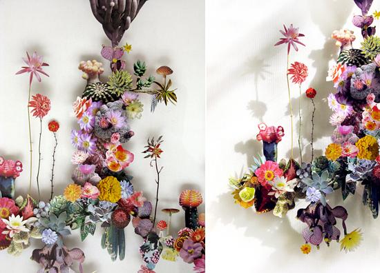 paper flowers Anne Ten Donkelaar007 Flower Art by Anne Ten Donkelaar