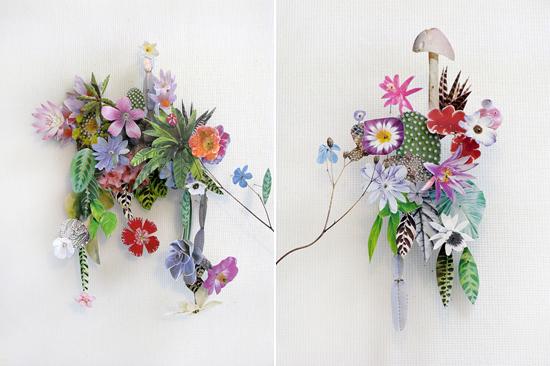 paper flowers Anne Ten Donkelaar017 Flower Art by Anne Ten Donkelaar
