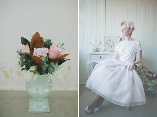 pastel 50s wedding inspiration014 Pastel 50s Wedding Inspiration