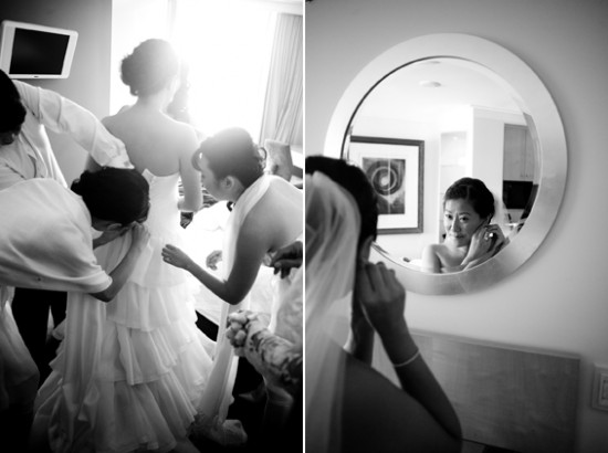 simply peachy sydney wedding 3 550x410 A Fun Favourite Things Sydney Wedding