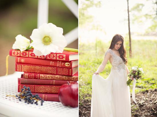 snow white wedding inspiration017 Snow White Wedding Inspiration