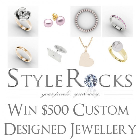 stylerocks giveaway 550x564 Win $500 Custom Designed (By You!) Jewellery from StyleRocks