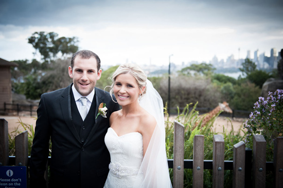 taronga zoo wedding018 Kirrily and Liams Fun Taronga Zoo Wedding