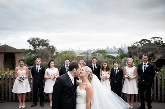 taronga zoo wedding020 Kirrily and Liams Fun Taronga Zoo Wedding
