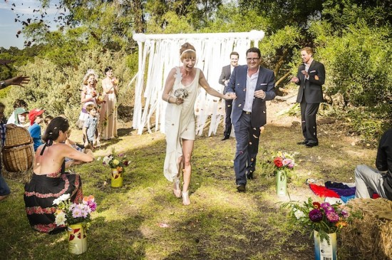 243 550x365 Holly & Petes Funfilled Handmade Margaret River Wedding
