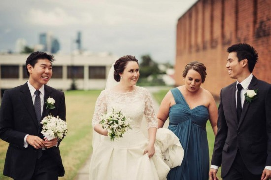 264341 526390820707777 222769362 n 550x366 Princess Catherine Style Brisbane Wedding With A Twist