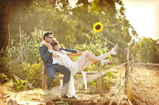 342 550x366 Holly & Petes Funfilled Handmade Margaret River Wedding