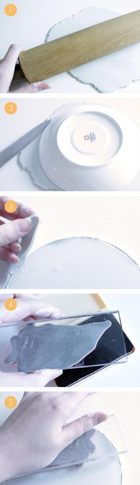 Akimbo clay ring bowl tutorial 1 550x1906 Rustic DIY Clay Ring Bowl Tutorial
