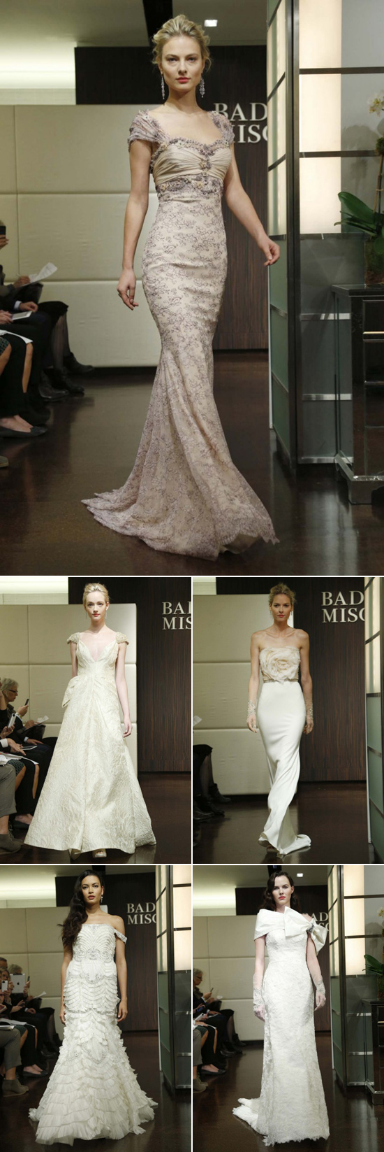 Badgley Mischka fall 2013