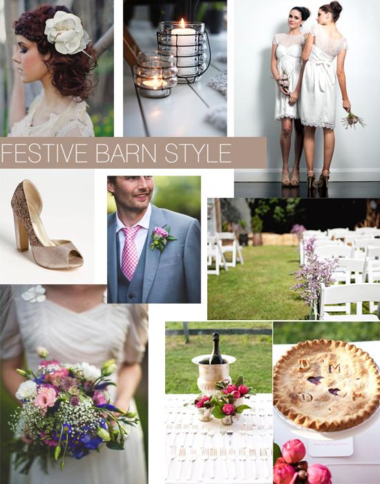 Barn Farm Wedding Style Ideas Shoe Crush Sunday Festive Barn Style