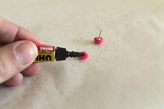 DIY Girls Neon Stud Earring 0782 DIY Neon Little (Or Big) Girls Earrings Tutorial
