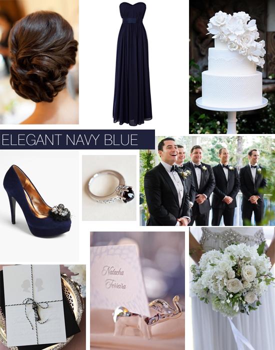 Elegant Black Tie Navy Wedding Inspiration Shoe Crush Sunday Elegant Navy Black Tie