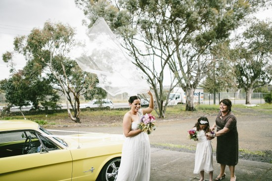 Erin and Jake 258 550x366 Erin and Jakes Lovely Vintage Melbourne Wedding