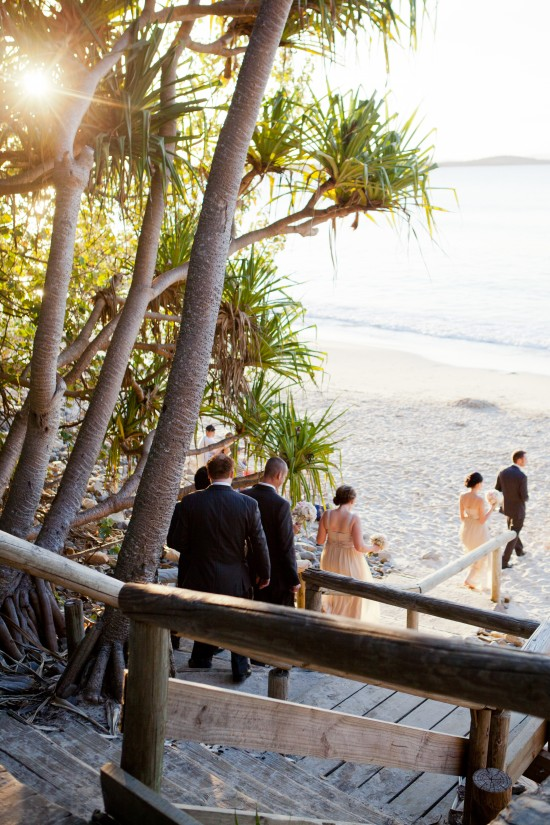 SA 0606 550x825 Sally and Andrews Vintage Style Noosa Wedding On The Beach