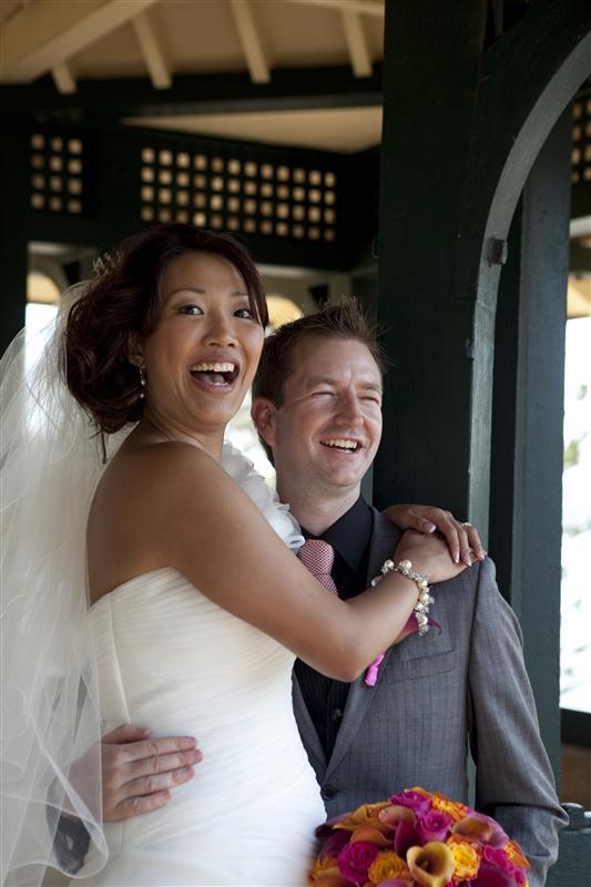 Simpson 270 Bess and Mitchs Orange & Pink Shark Island Sydney Wedding