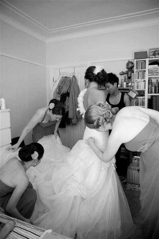 Simpson 501 Bess and Mitchs Orange & Pink Shark Island Sydney Wedding