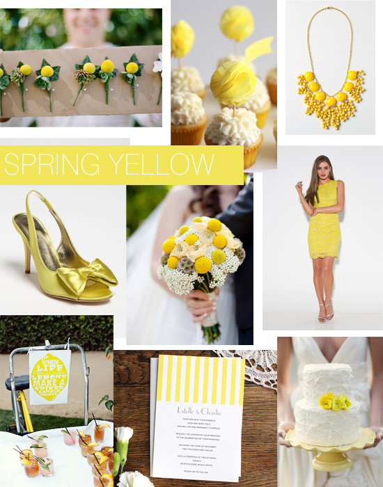 Yellow Wedding Shoes Inspiration1 Shoe Crush Sunday Spring Yellow