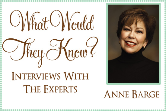 anna barge What Would They Know? Anne Barge