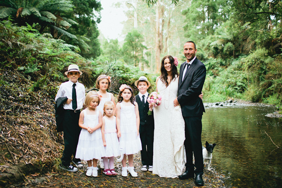 australian forest wedding008 Inspired Words Claire