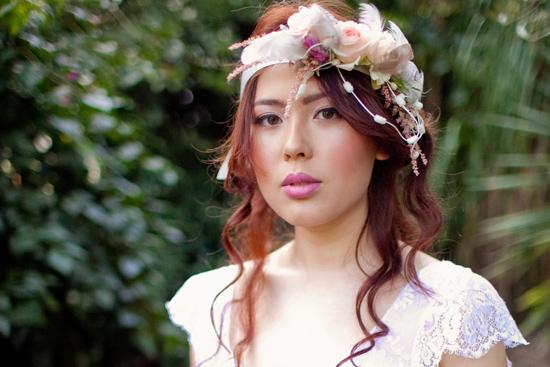 bohemian flower inspiration002 Garden Bohemian Wedding Inspiration