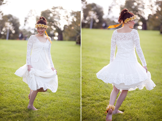 bohemian flower inspiration016 Garden Bohemian Wedding Inspiration