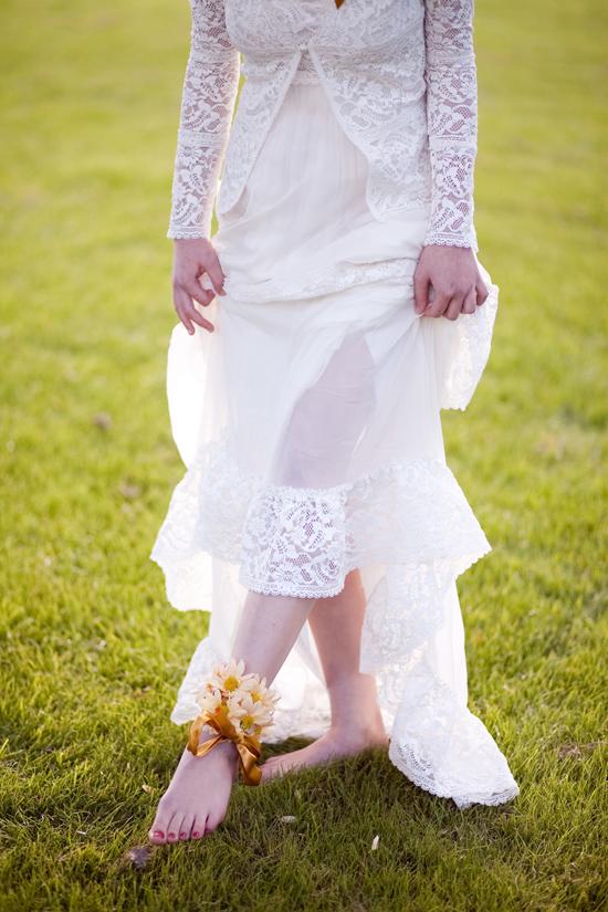 bohemian flower inspiration018 Garden Bohemian Wedding Inspiration