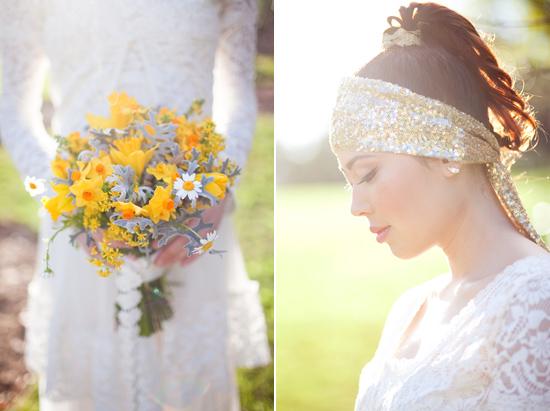bohemian flower inspiration020 Garden Bohemian Wedding Inspiration