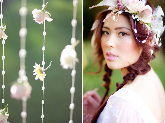 bohemian flower inspiration023 Garden Bohemian Wedding Inspiration
