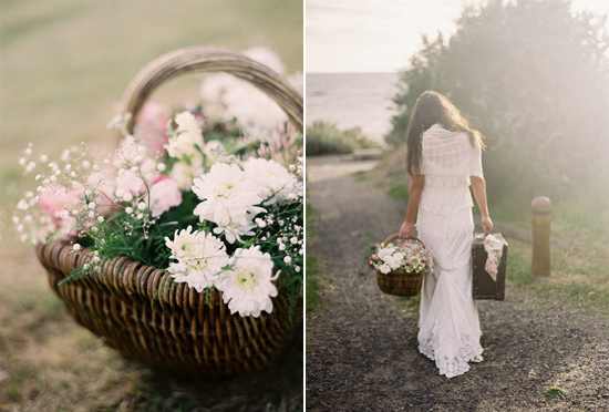 elopement inspiration from intique and co005 Gorgeous Gowns Just Us Two From Intique & Co